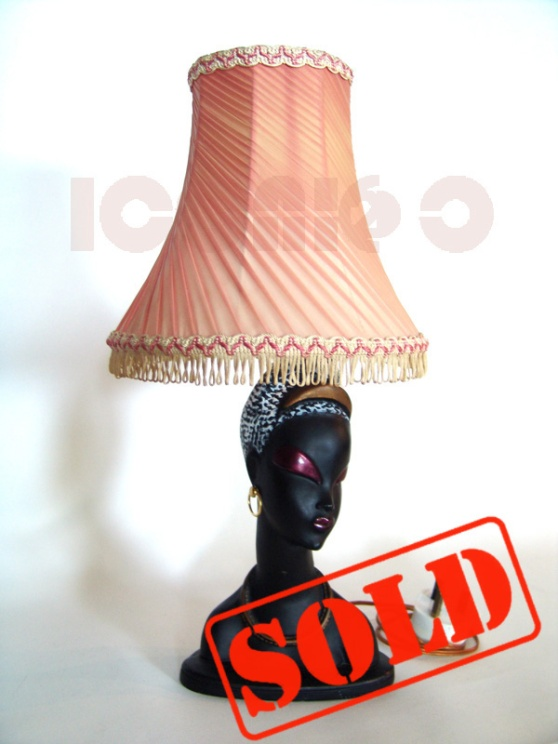 50s-black-asian-lady-TRETCHIKOFF-LYNCH-lamp