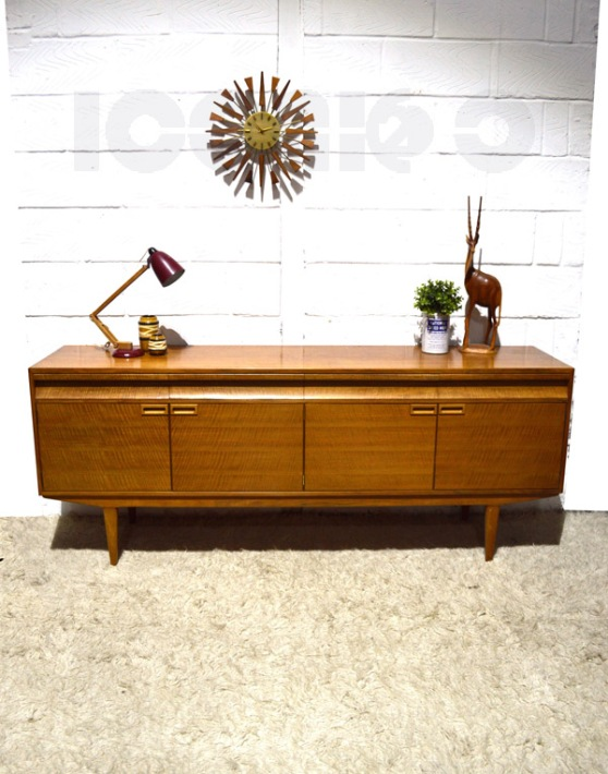 __alfred cox heavy maple sideboard