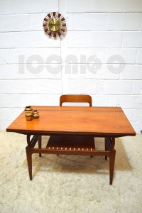 __DANISH METAMORPHIC COFFEE DINING TABLE 4