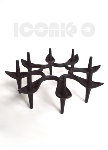 _dansk STARBURST SPIKE candle holder rare design