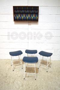 __kandya program stools x4 blue seats frank guille