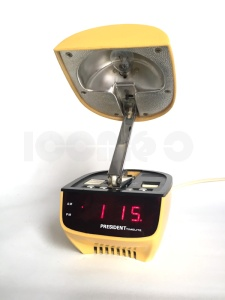 _president timelite oyster clam alarm clock lamp