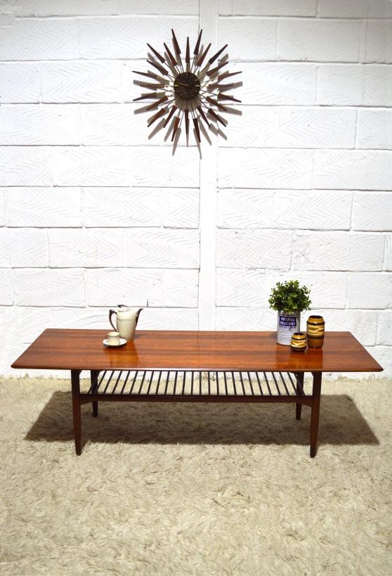 _G Plan Kofod Larsen Danish long coffee table
