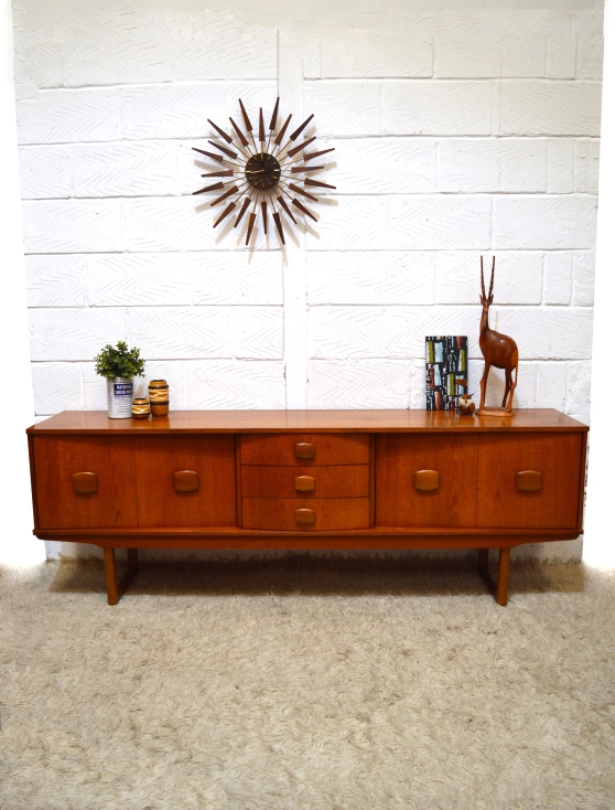 _stonehill toledo bow drawers long sideboard