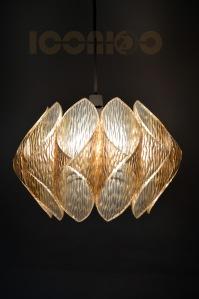 _70s lucite lampshade