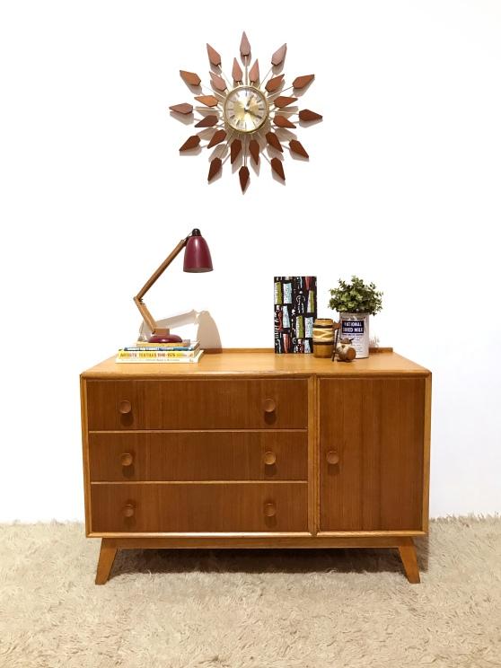 _meredew oak small sideboard