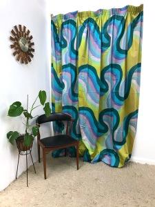 _Barbara Brown Galleria Heals fabric curtain 1